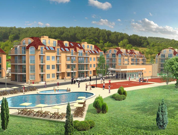 Bulfra luxueuse residence au bord de la mer noire for Acheter maison en bulgarie