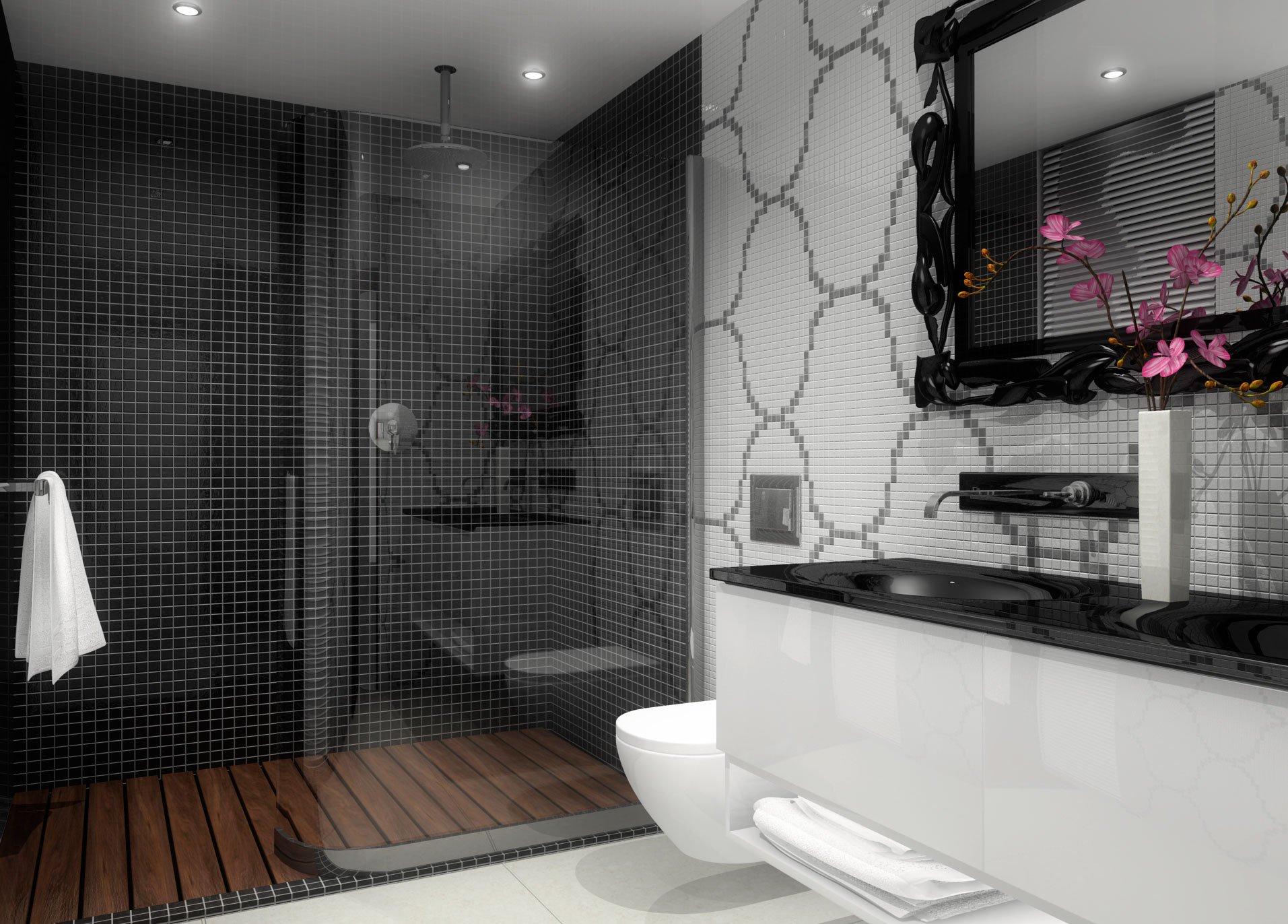Projet white pearl la pierre precieuse en bord de mer for Salle de bain de luxe italienne