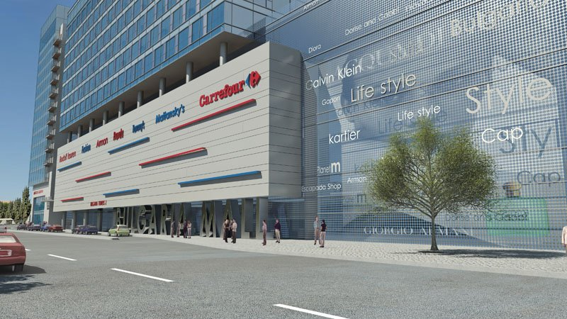Mall bulgaria on va commencer un troisiememe grand centre for Centre commercial grand tour